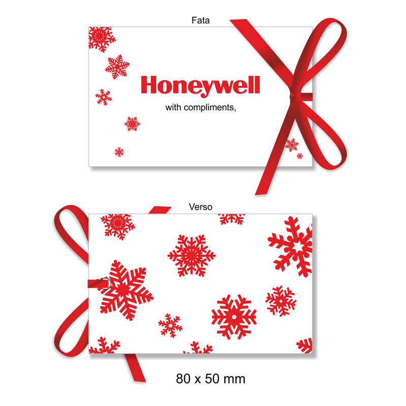 HNWL Compliment Card Xmas Honeywell
