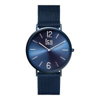 ICE WATCH,model CITY milanese-Blue matte-Medium